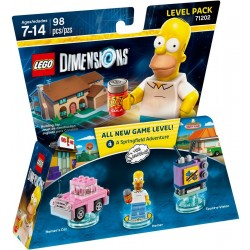 Simpsons Homer Level Pack