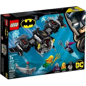 Batmanova ponorka a střetnutí pod vodou
