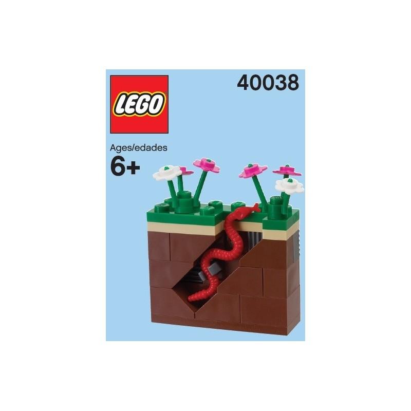 Garden and Earthworm (polybag)