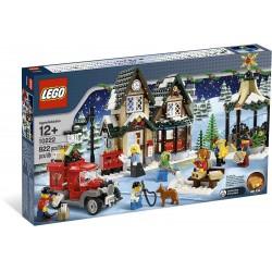 Zasněžená vánoční pošta