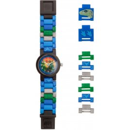Sestavitelné hodinky s Blue od LEGO® Jurassic World™
