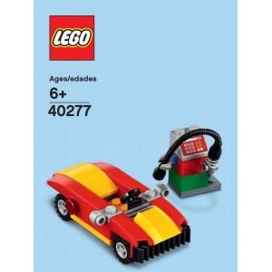 Car and petrol pump (polybag)