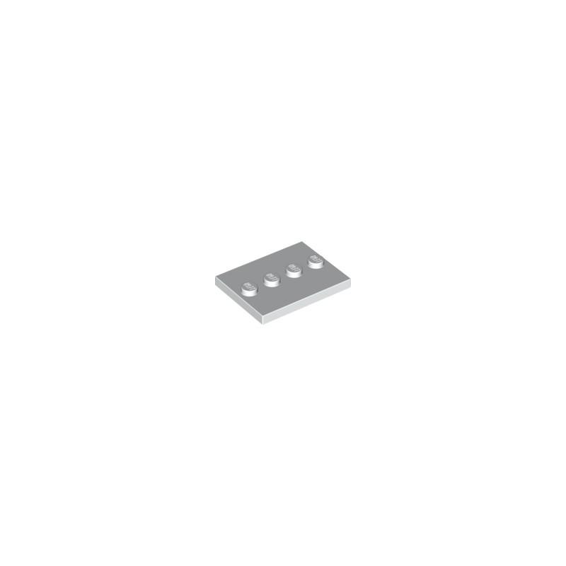 Podložka pro minifigurku - bíla