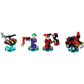 Super heroes Joker and Harley Quinn Team Pack