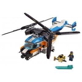 Helikoptéra se dvema rotory
