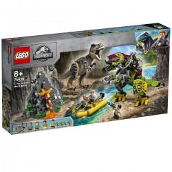 T. rex vs. Dinorobot