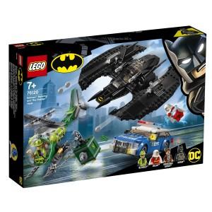 Batmanovo letadlo a Hádankárova krádež