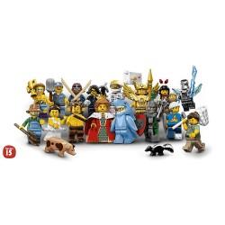Minifigurky 15. série - kompletní série (16 minifigurek)