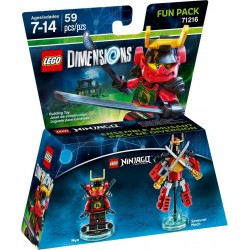 Ninjago Nia and Samurai Mech