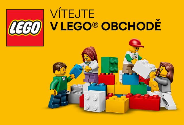 Vítejte v LEGO obchodě!