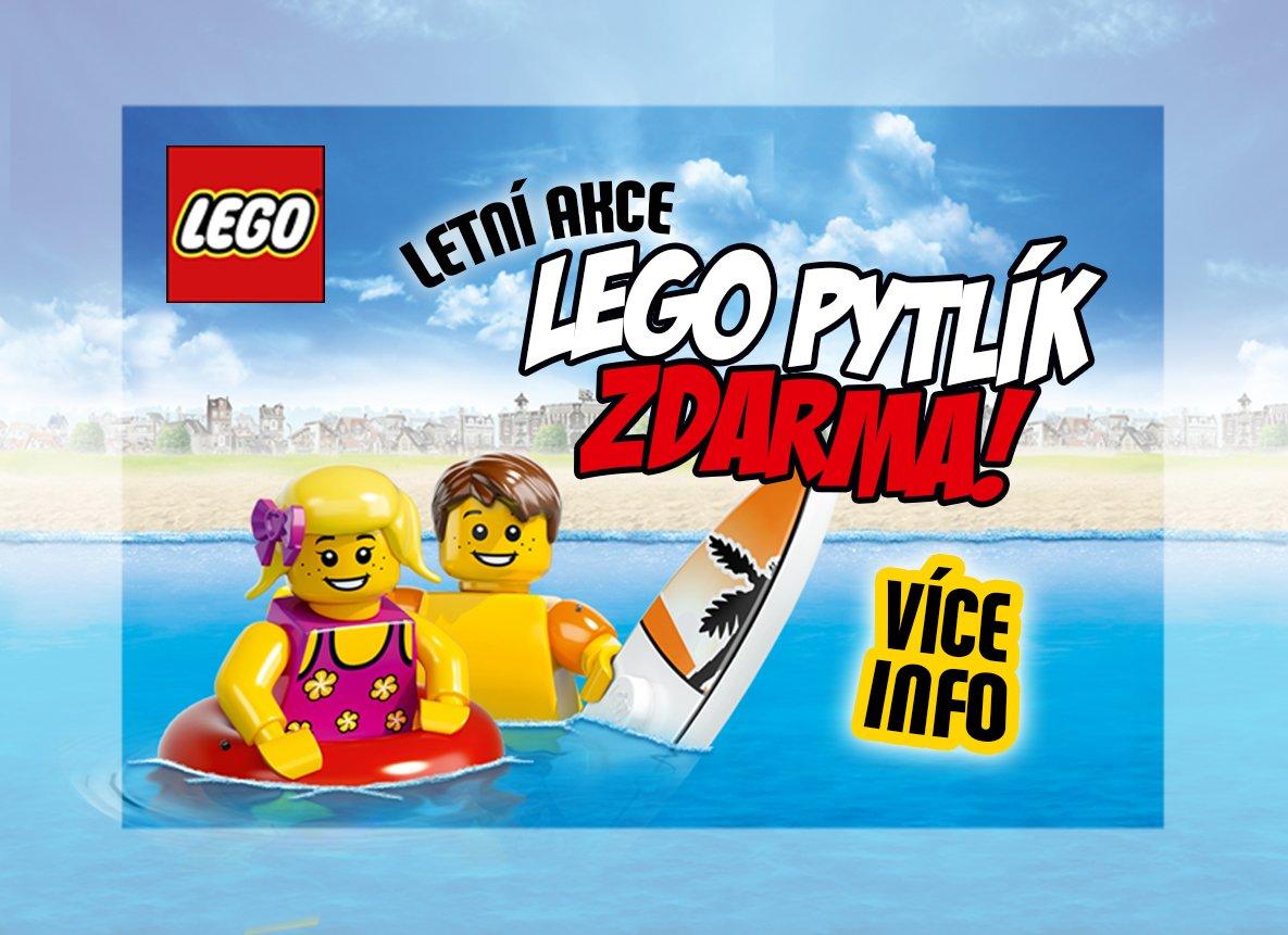 LETNÍ AKCE - LEGO pytlík ZDARMA