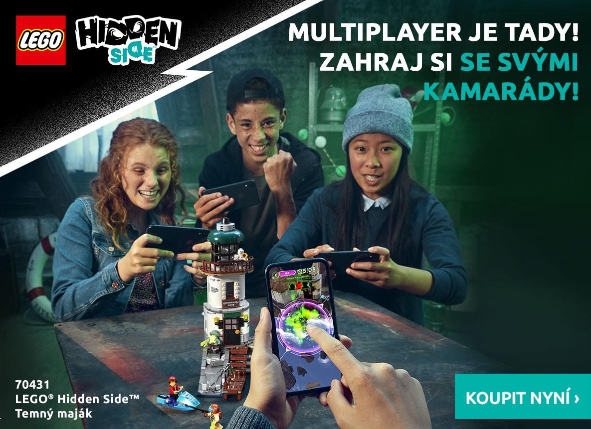 Multiplayer je tady! Zahraj si se svými kamarády!