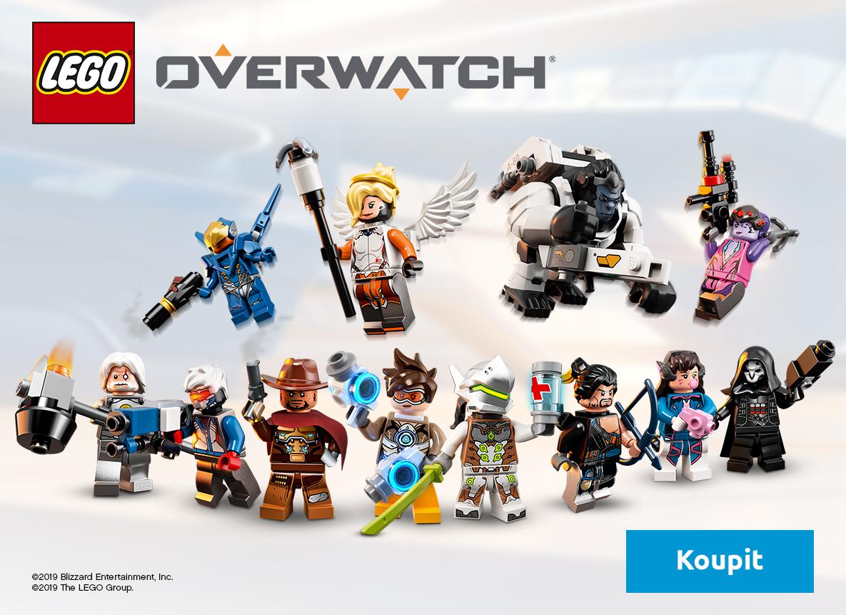 Ponoř se do akcí nabitého světa stavebnic LEGO Overwatch!