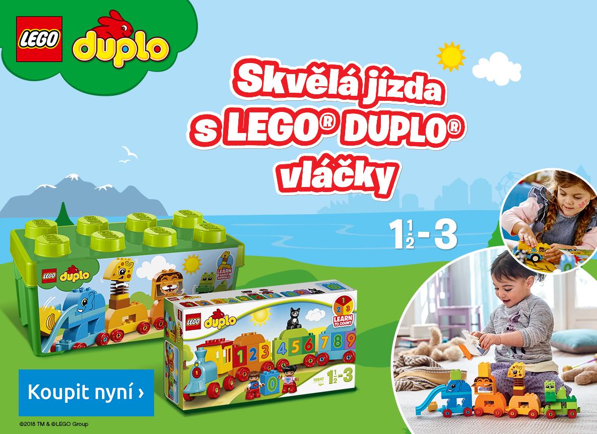 Dejte prostor představivosti a kreativitě s LEGO® DUPLO!